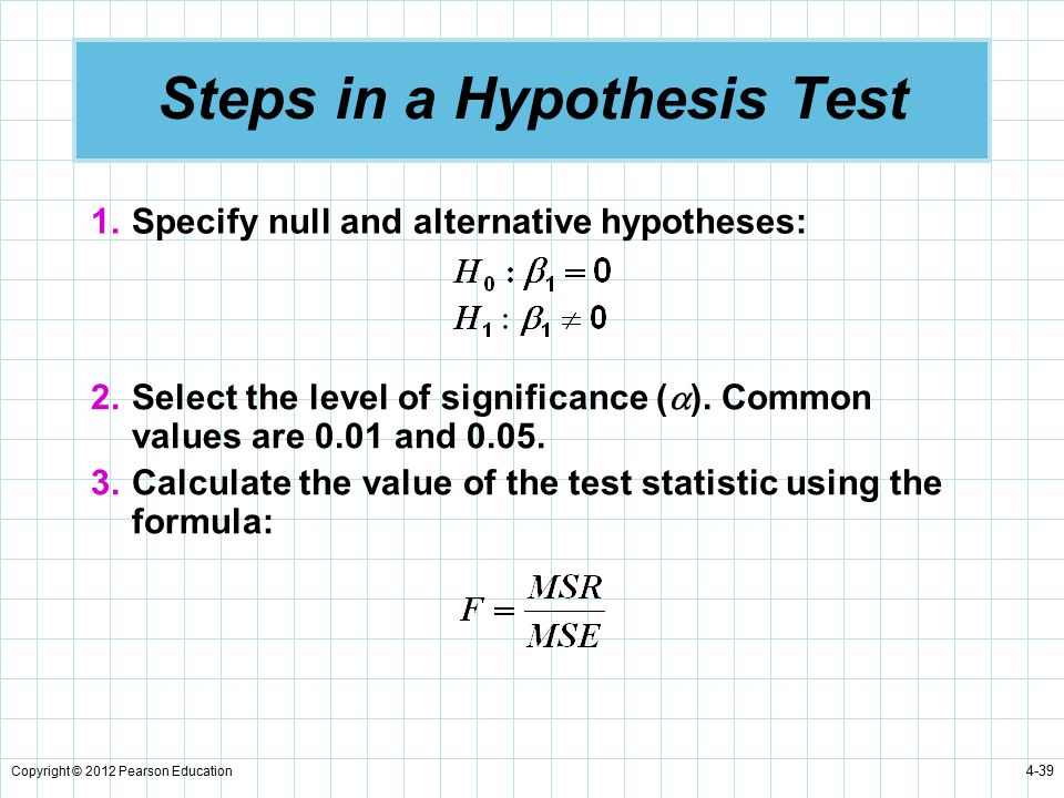 2 - The 7 Step Process of Statistical Hypothesis Testing