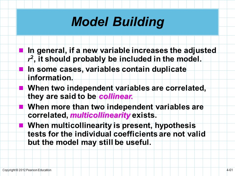 regression models chapter 4 ppt