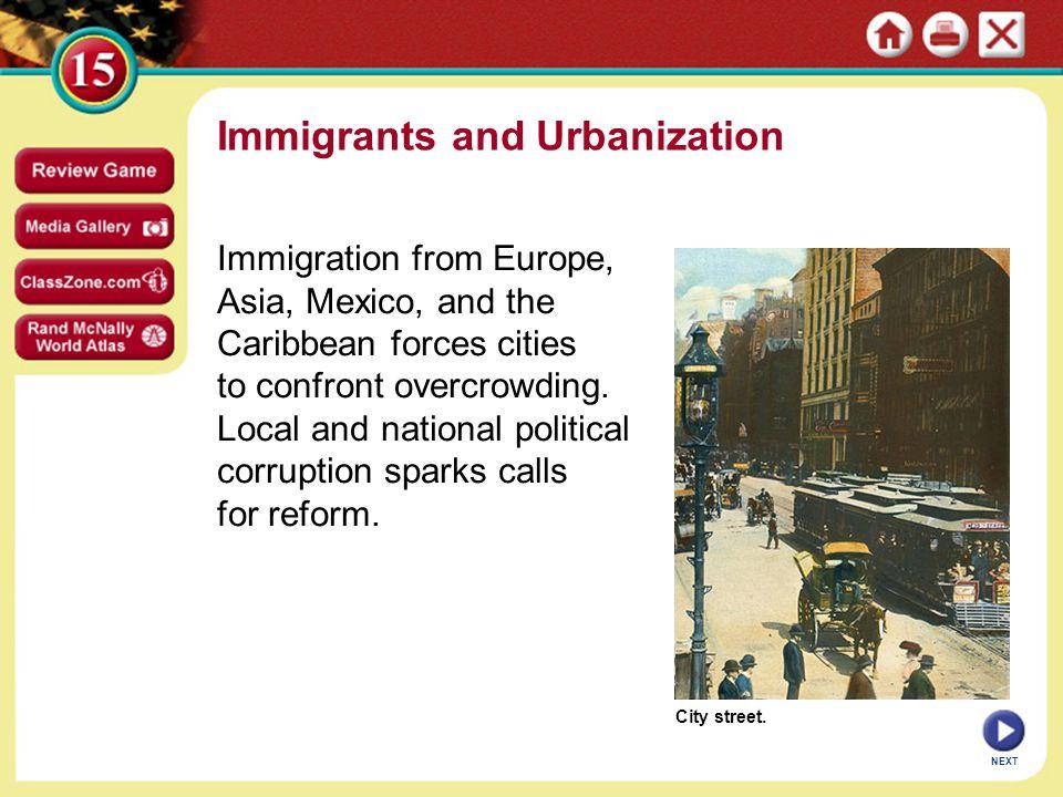 american urbanization essay