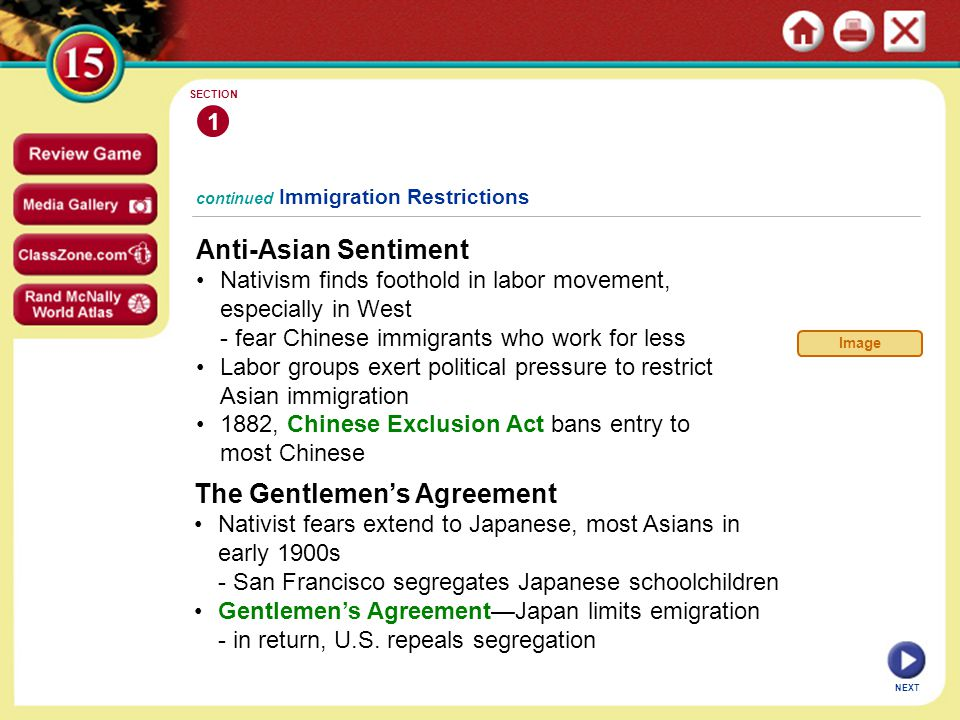americanization movement immigration restrictions and nativism essay The americanization movement that came into being was primarily a culture was an important hedge against violent nativist groups such as immigration, process.