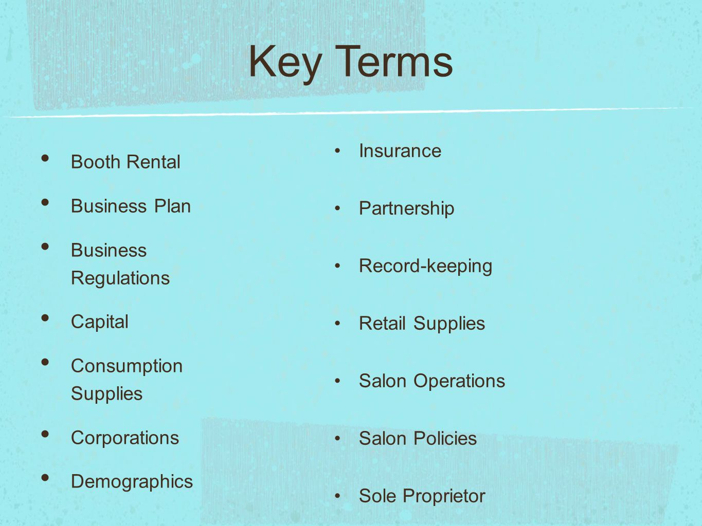 The Salon Business Ch # ppt video online download