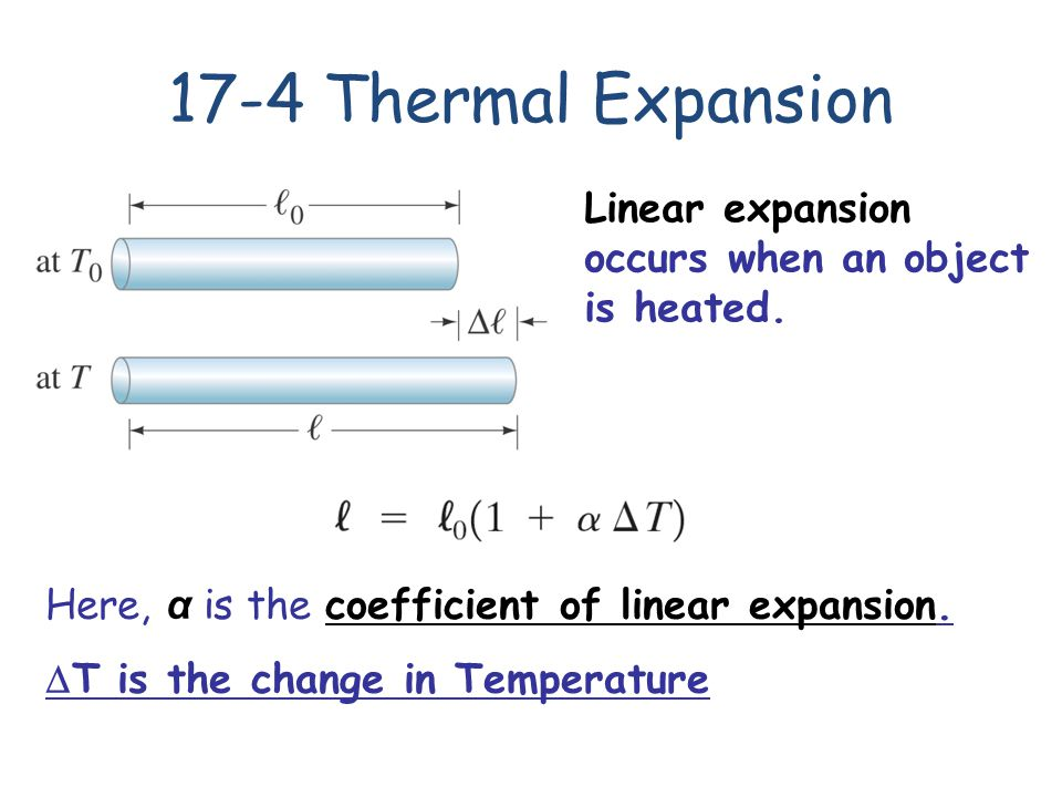 Thermal Expansion Of Steel Ring
