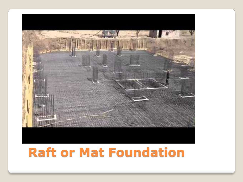 Raft or Mat Foundation