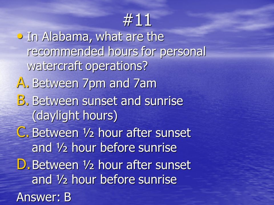 Alabama Boaters Study Guide PDF Download