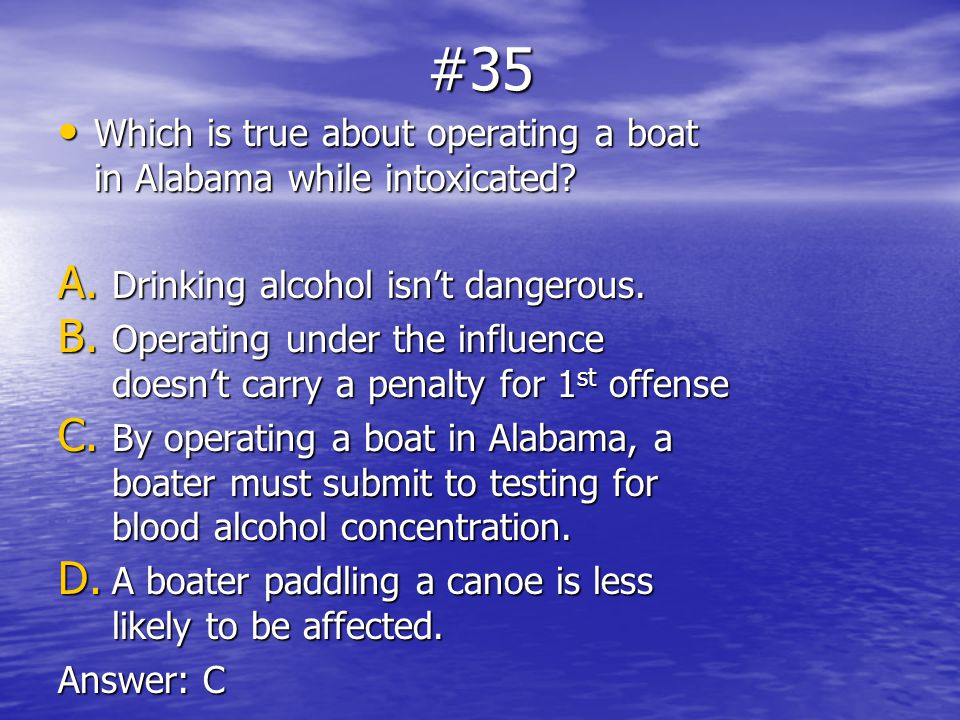 Boating Safety Study Guide - BoatUS Foundation