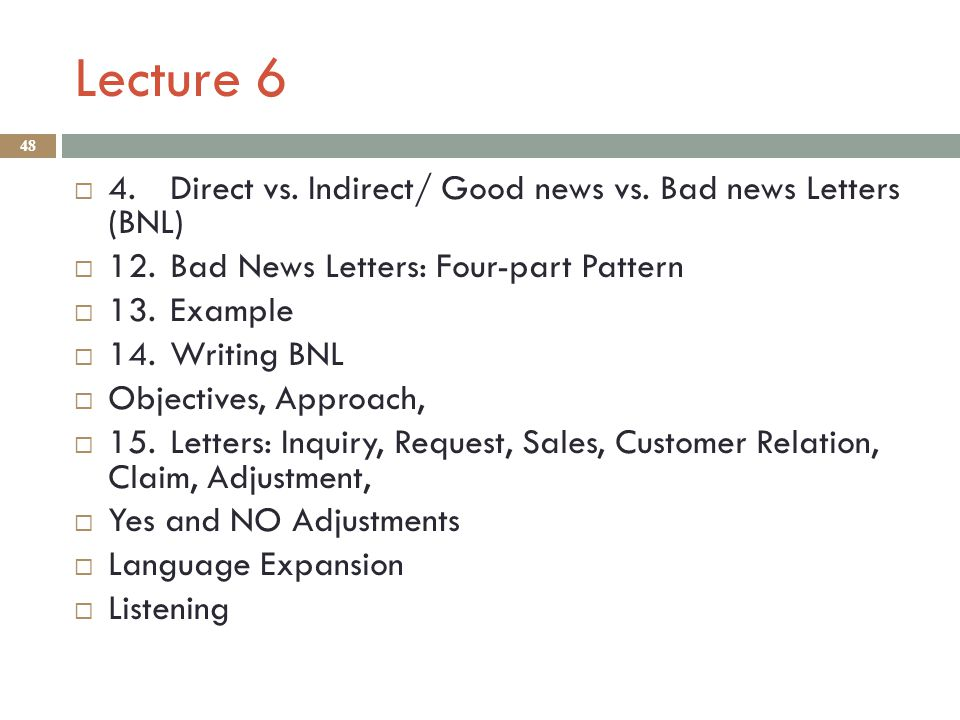 bad news letter indirect approach Examples of reduction in force letters  layoff letter samples  manufacturing, and data center operations will continue to change in direct  with our approach.