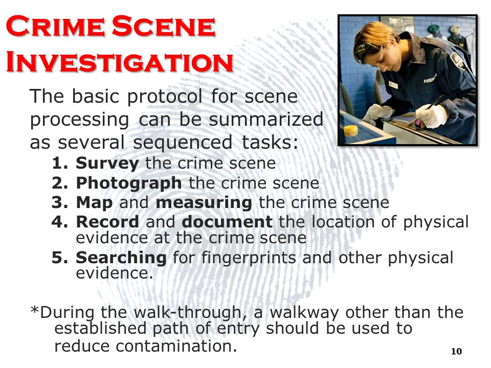 scientific method criminal investigation Criminal investigation: criminal investigation,, ensemble of methods by which crimes are studied and and other scientific techniques are also standard crime.