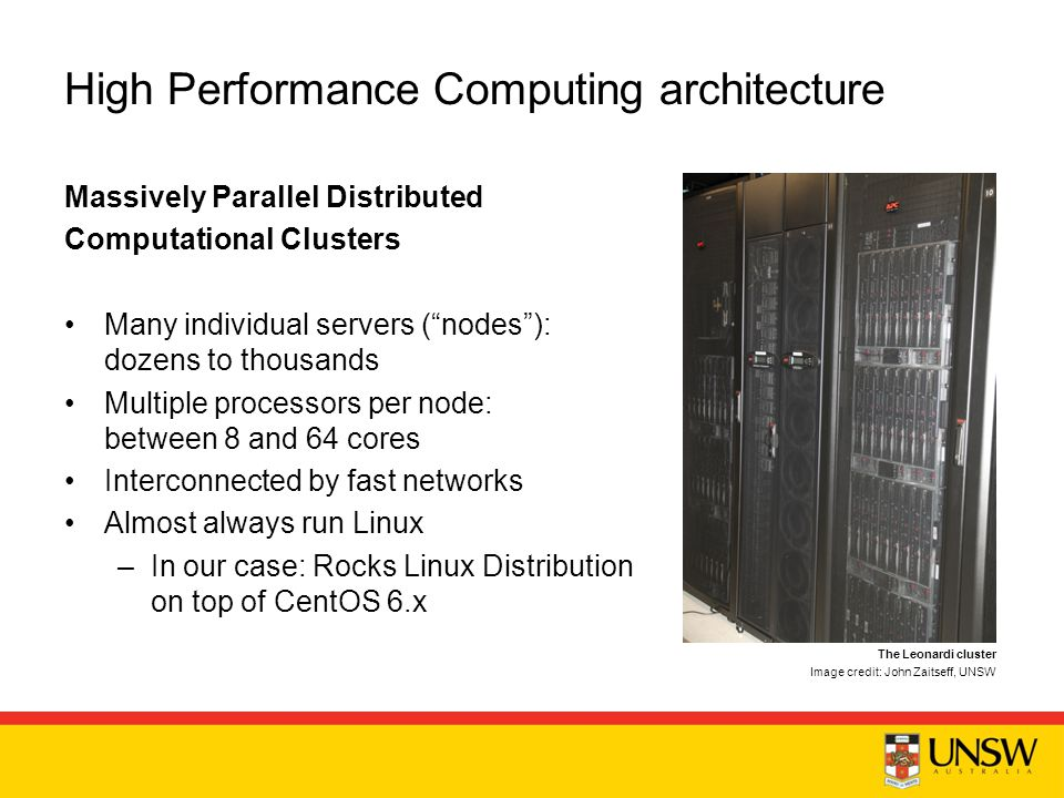 high performance computing linux cluster The nih hpc group plans, manages and supports high-performance computing   these systems include biowulf, a 90,000+ processor linux cluster helix,.