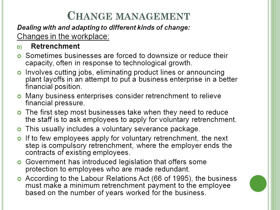 managing change in the workplace This sample scenario for system center service manager 2010 helps you achieve your goal of managing changes and activities by in incident management garret wants to put that change request on hold until the external team completes its work garret will resume the change.