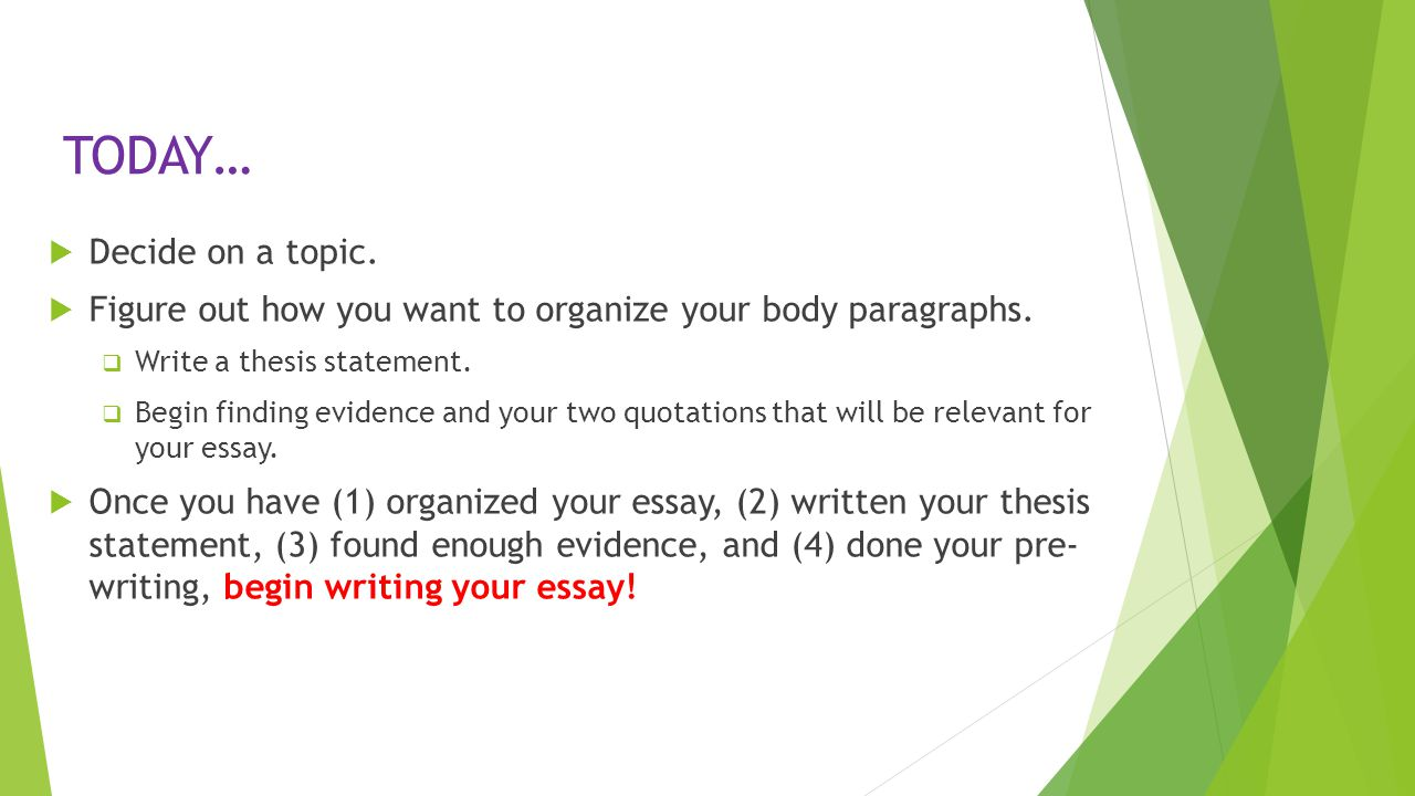 english 10 essay topics English 10-1 essay outline a topic sentence: this should be a general statement linking your first support idea that proves something significant to your thesis.