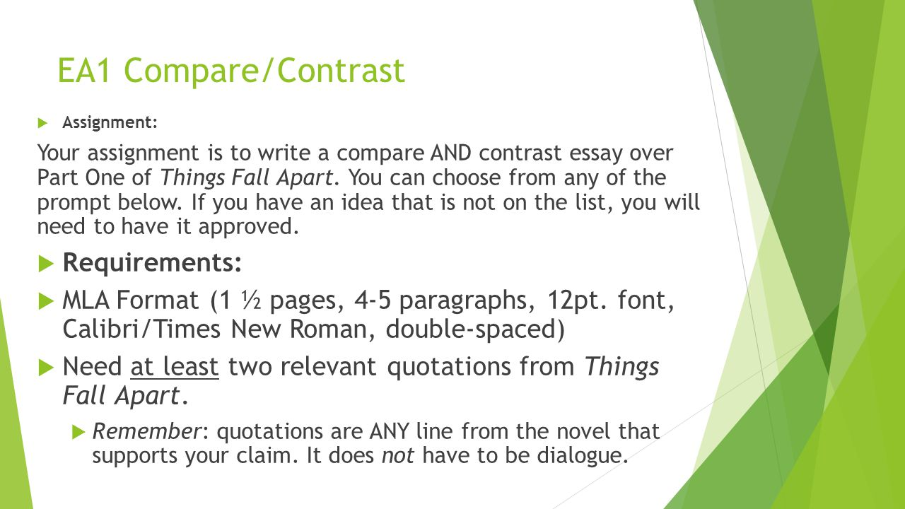 Compare and contrast spring and autumn essay