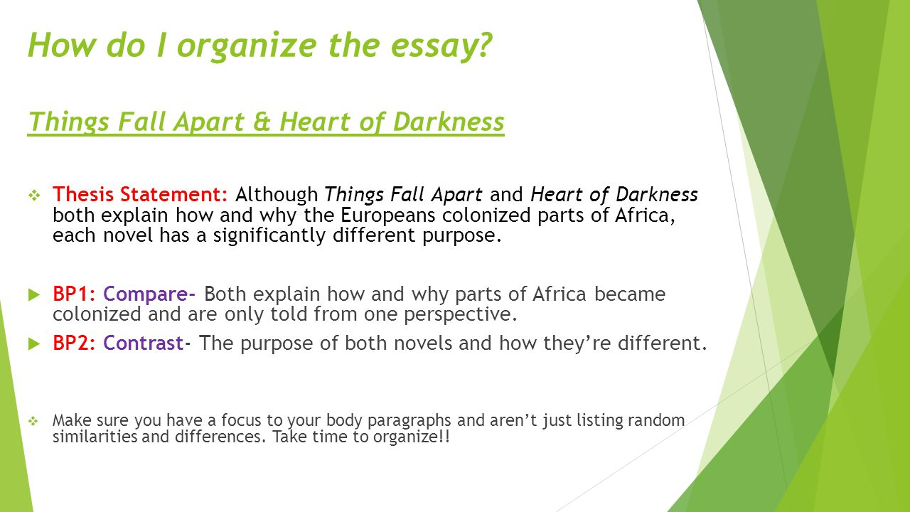 Heart of Darkness Themes and Symbols