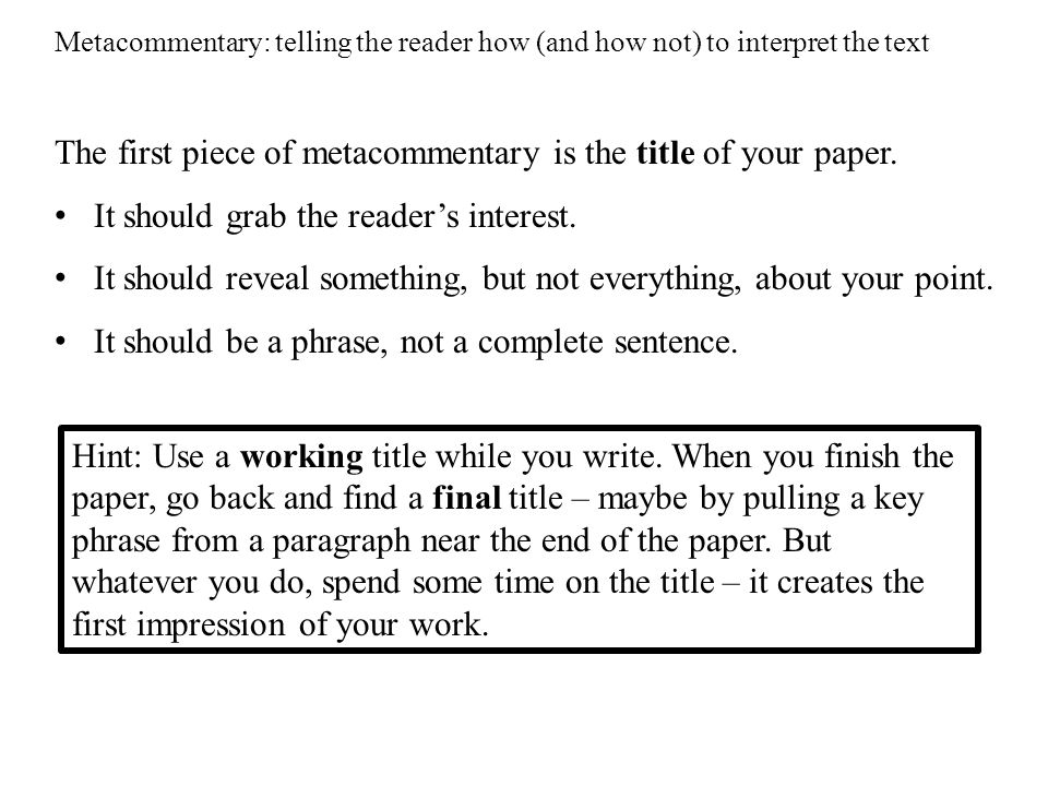 usefulness of metacommentary The usefulness of this book's criticism of info-enthusiasts would have been   makes compelling arguments for continued relevance of being there to learning .