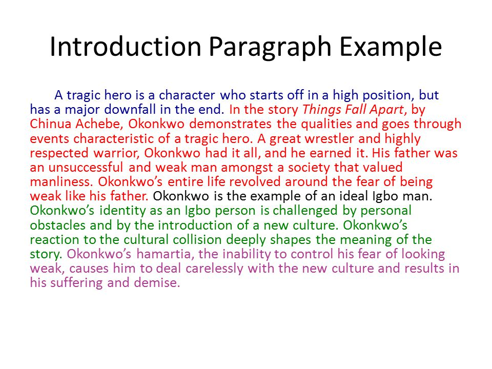 Analysis Essay Example Paragraphs  Ppt Video Online Download