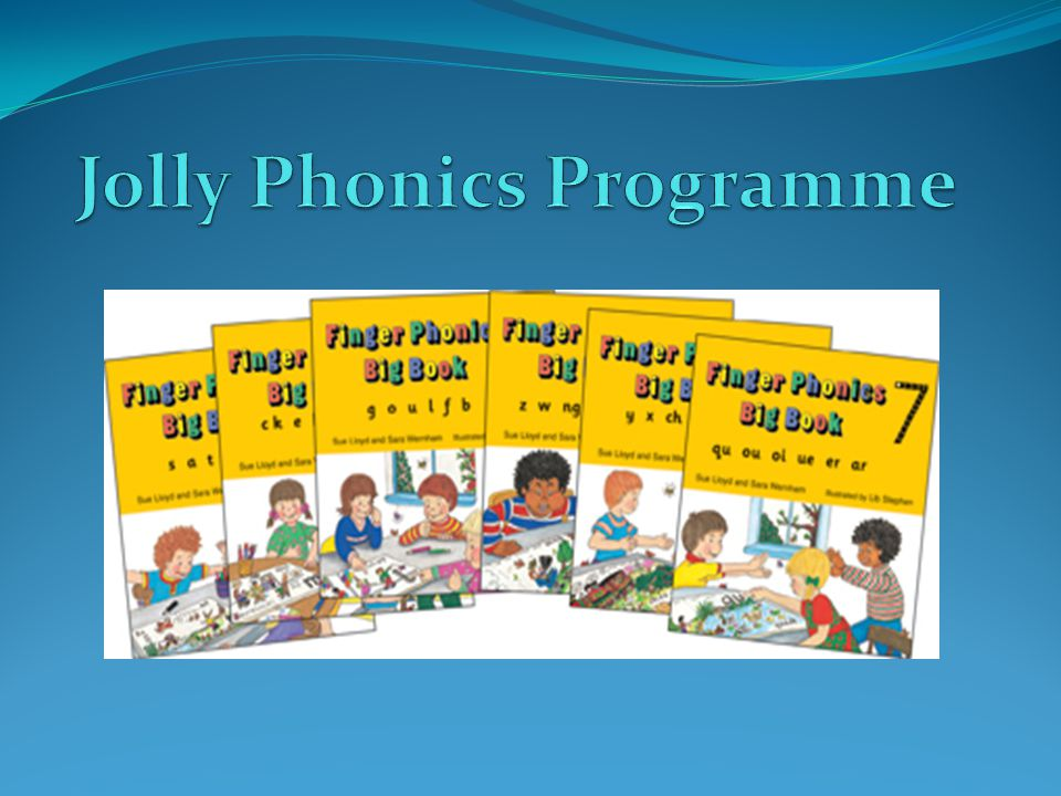 Jolly Phonics Programme