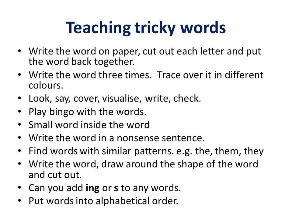 Essay link words together