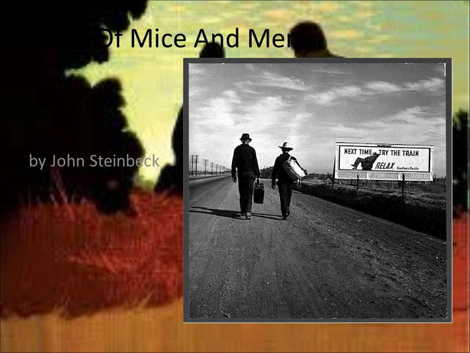 a summary of of mice and men by john steinbeck Get free homework help on steinbeck's of mice and men: book summary, chapter summary and analysis, quotes, essays, and character analysis courtesy of cliffsnotes.