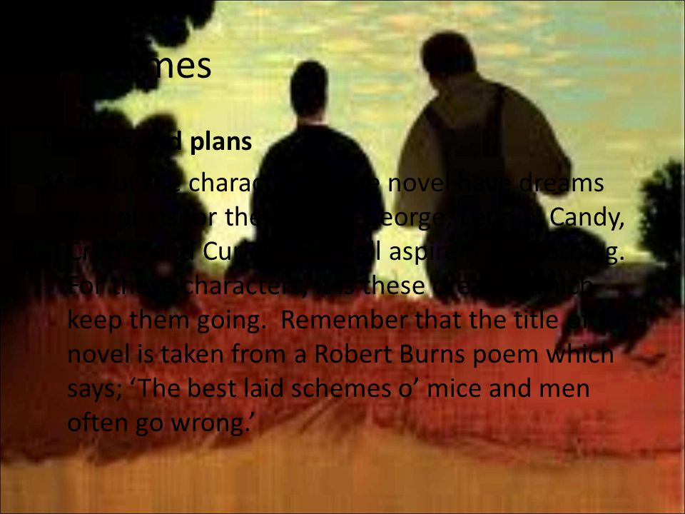 power in the novel mice and A review of the plot, themes, and exercises i use when teaching of mice and men slideshare uses cookies to improve functionality and performance, and to provide you with relevant advertising if you continue browsing the site, you agree to the use of cookies on this website.