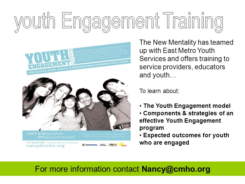 youth Engagement Training