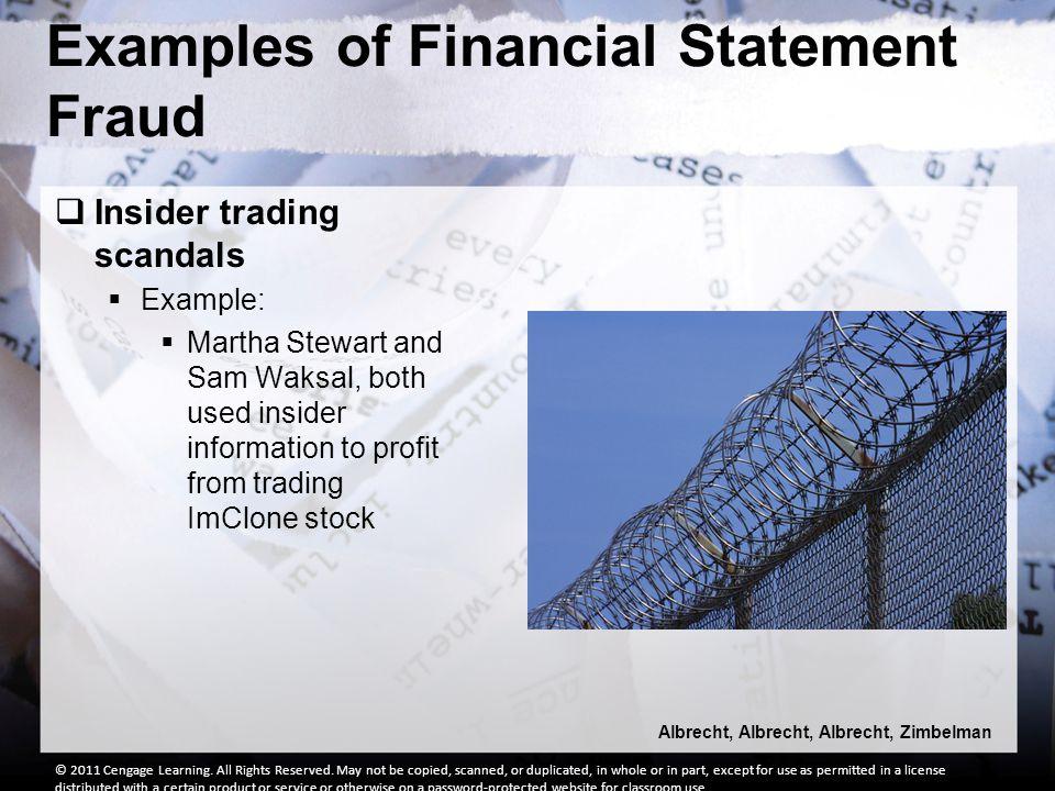 financial statement frauds Financial statement fraud ©australian securities & investments commission, june 2005 page 3 financial statement fraud what is financial statement fraud.