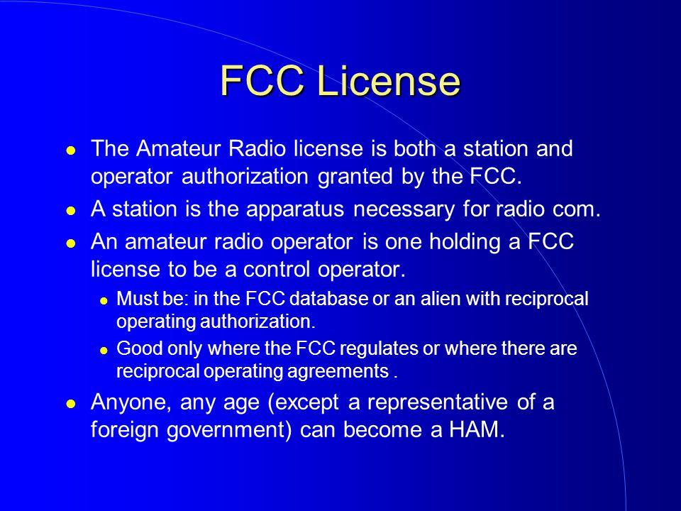 Fcc Amateur License 78