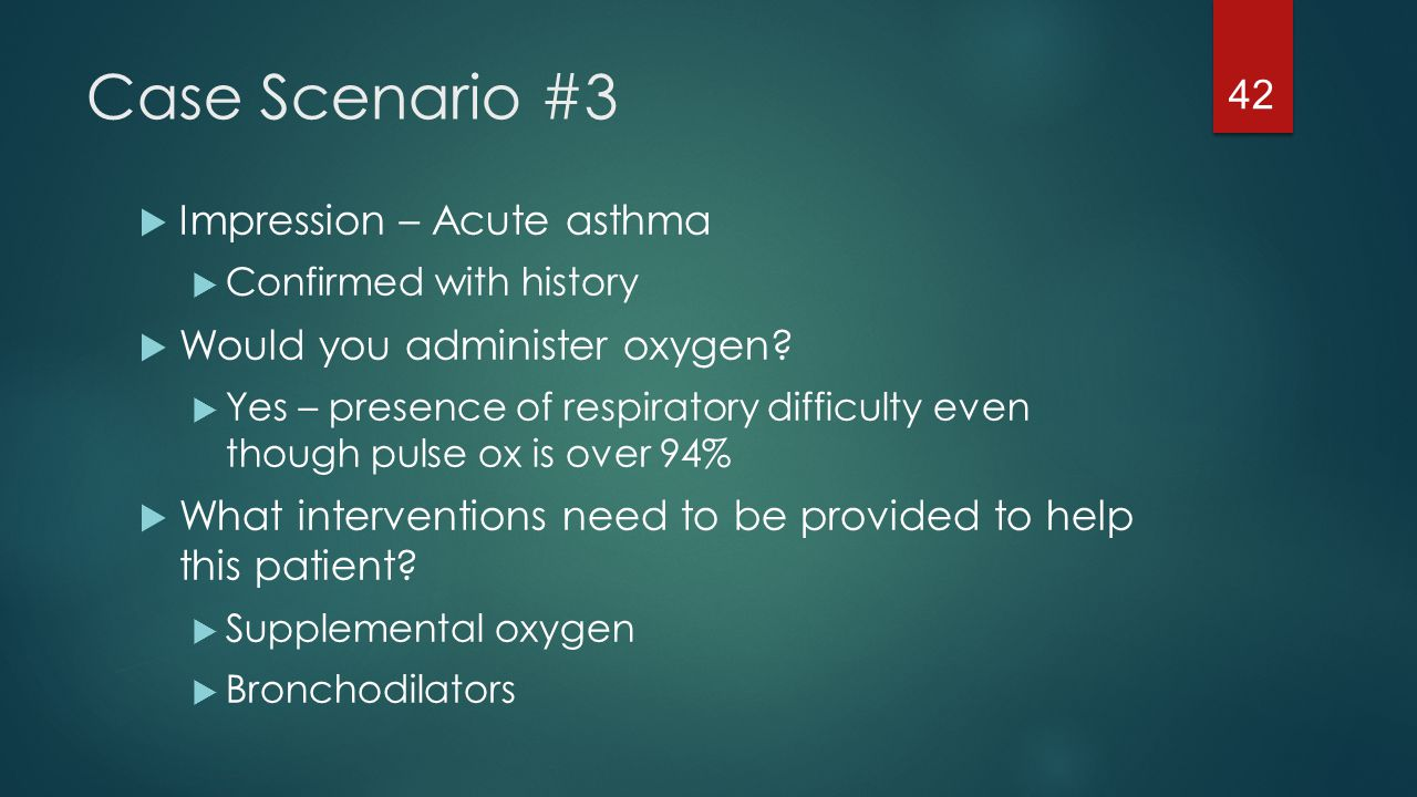 nursing interventions for asthma needing oxygen supplement Asthma nursing diagnosis is different from a medical diagnosis, helping the nurse to select nursing interventions to improve outcome  a patient's needs and plan .