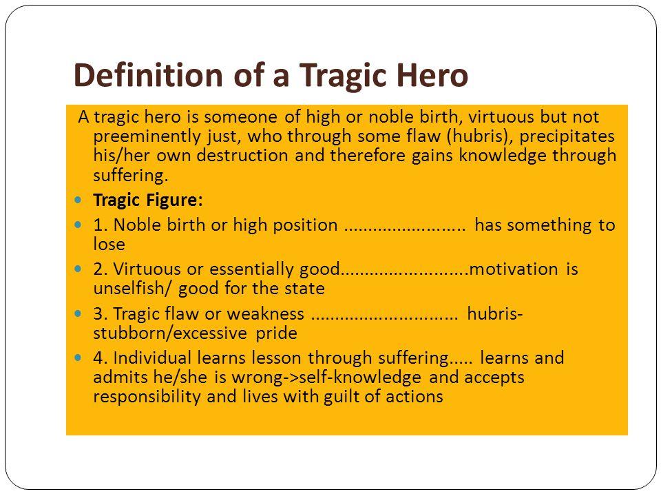 oedipus as a tragic hero pdf
