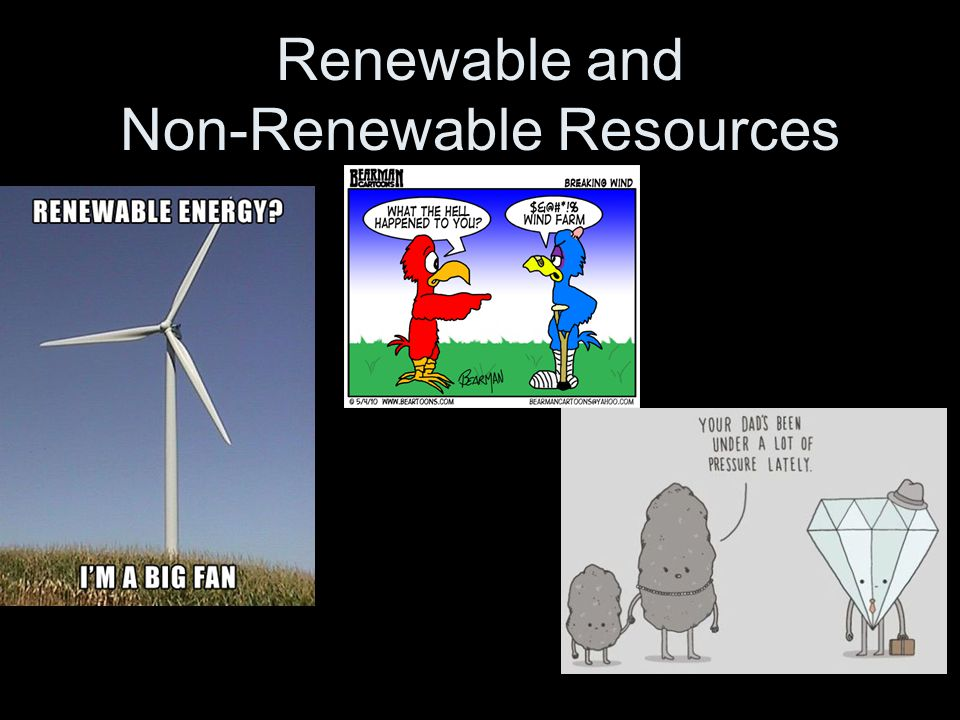 How Are Renewable And Nonrenewable Natural Resources Formed