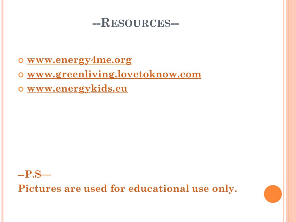 --Resources--