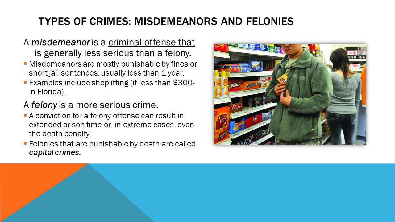 felonies misdemeanors Do background checks show misdemeanors my account do background checks show misdemeanors in comparison to felonies, misdemeanors are criminalwatchdog® is a.