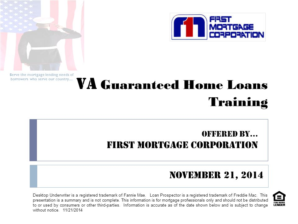 va underwriting approval