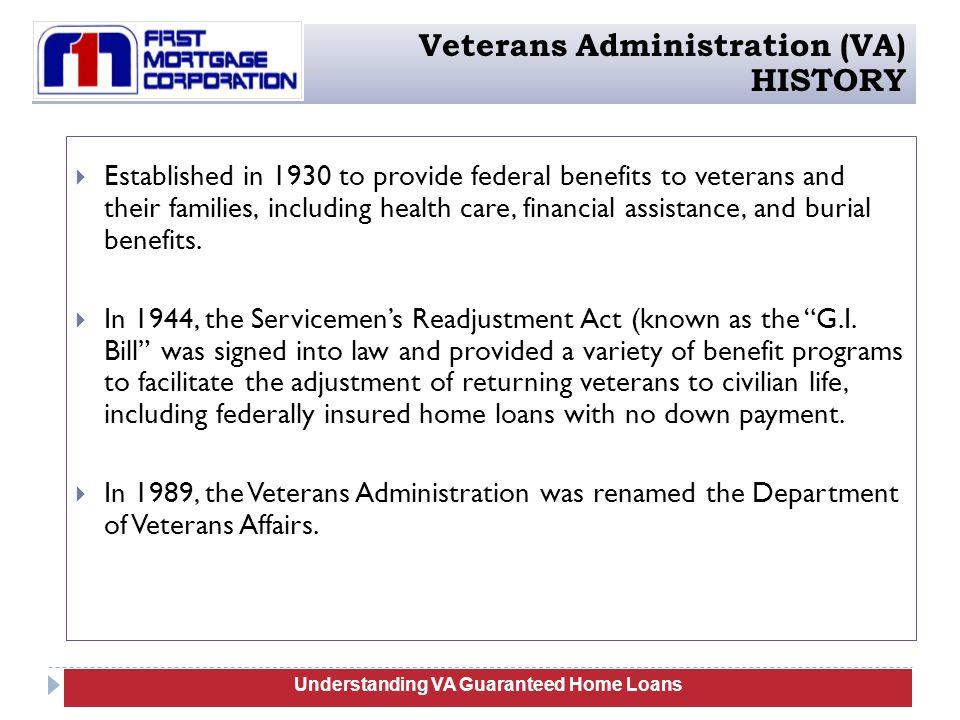 VA Guaranteed Home Loans Training - ppt download