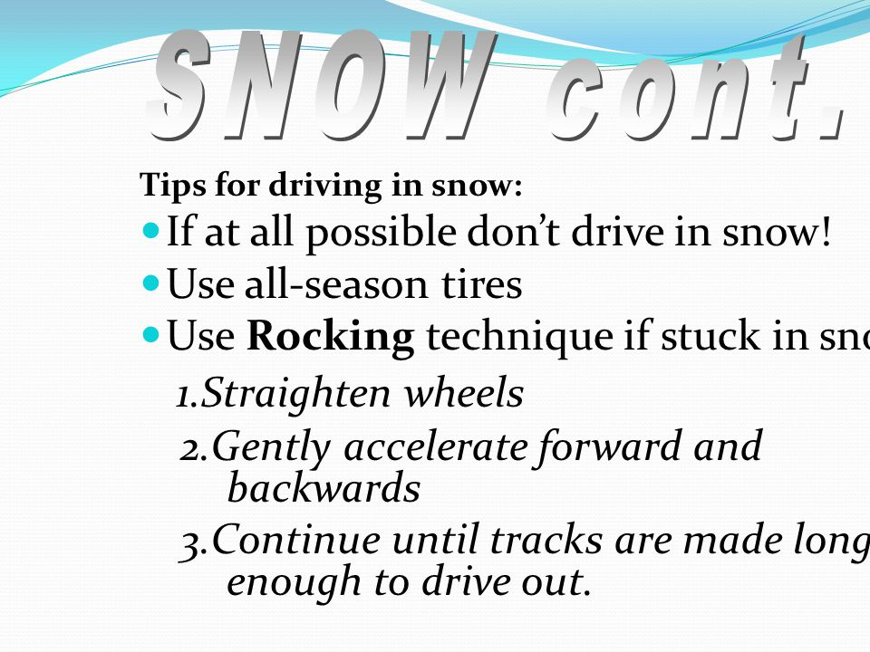 driving in adverse conditions essay If all else fails and you have the option to do so safely, leave the road and drive the car into a snow bank if you're driving in foggy conditions: turn on the fog lights.