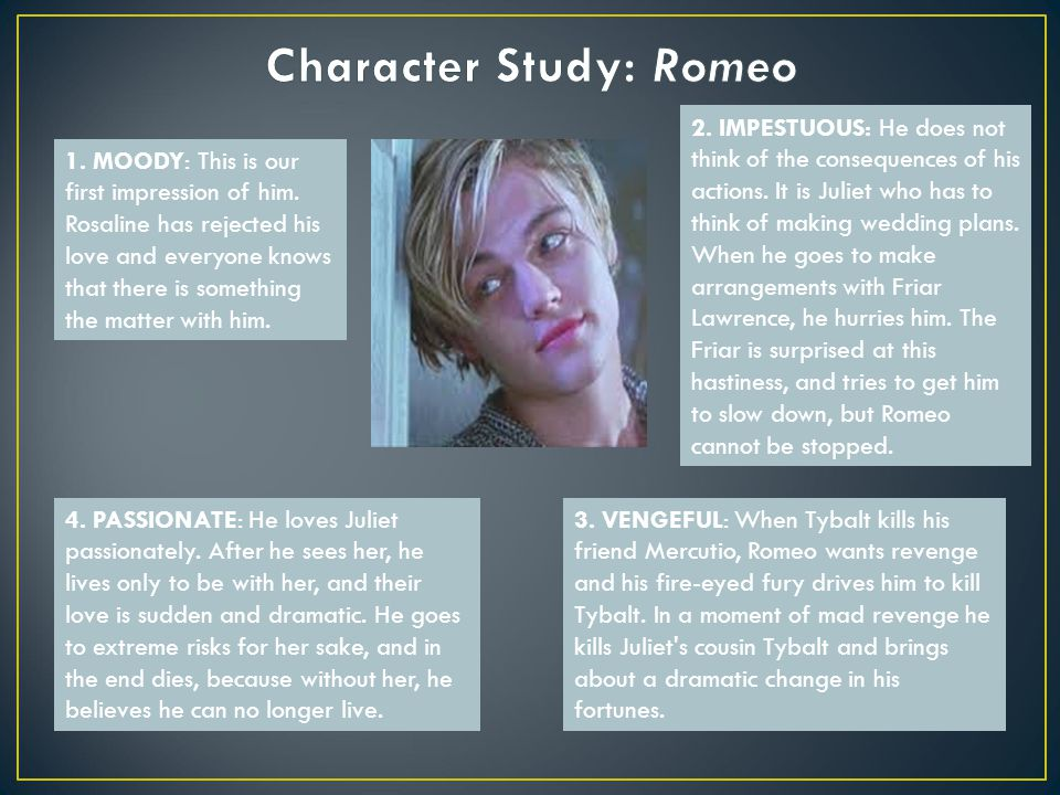 the actions and consequences in romeo Friar laurence is a fictional character in william shakespeare's play romeo and juliet contents 1 role in the play 2 metre 3 notes and references.