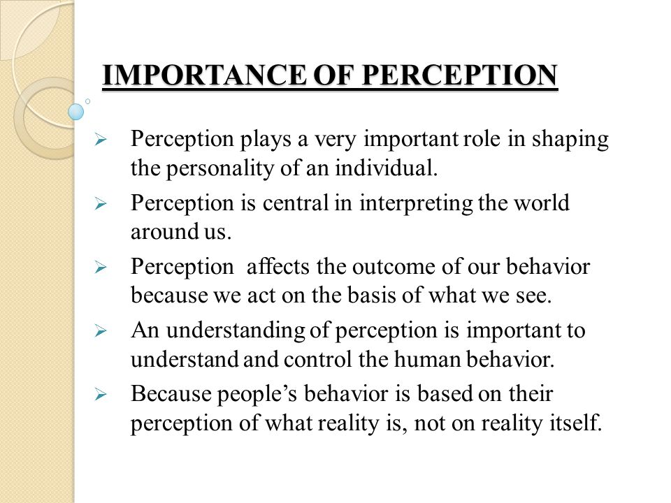 the people's perception on the price So many factors influence our perceptions and they can change over time  most of us are aware also that people are attracted to price points.