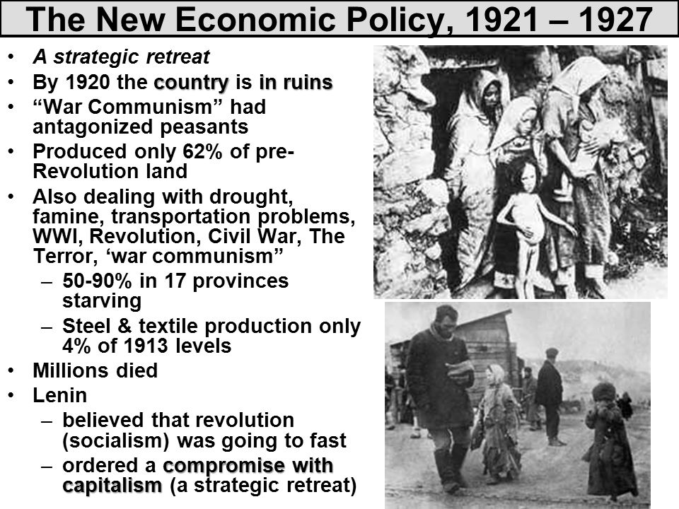 stalin nep and the first five In the late 1920s, stalin abandoned nep in favor of centralized planning, which   the first five-year plan called for collectivization of agriculture to ensure the.