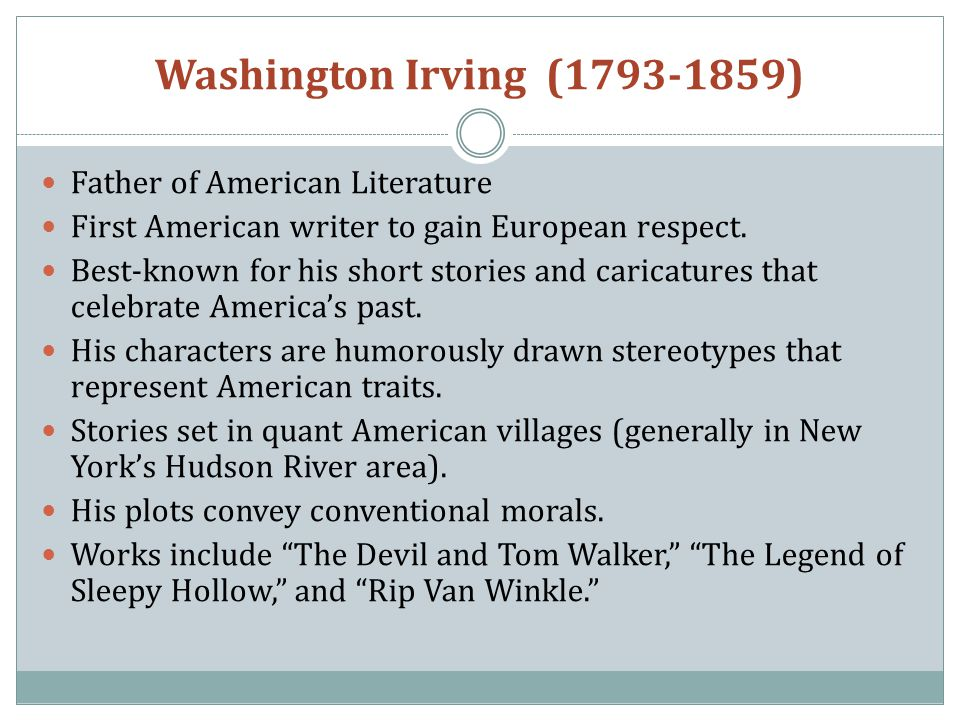 american romanticism in the short story the devil and tom walker by washington irving American romanticism in the short story the devil and tom walker by  washington irving (325 words, 2 pages) american romanticismamerican  romanticism.