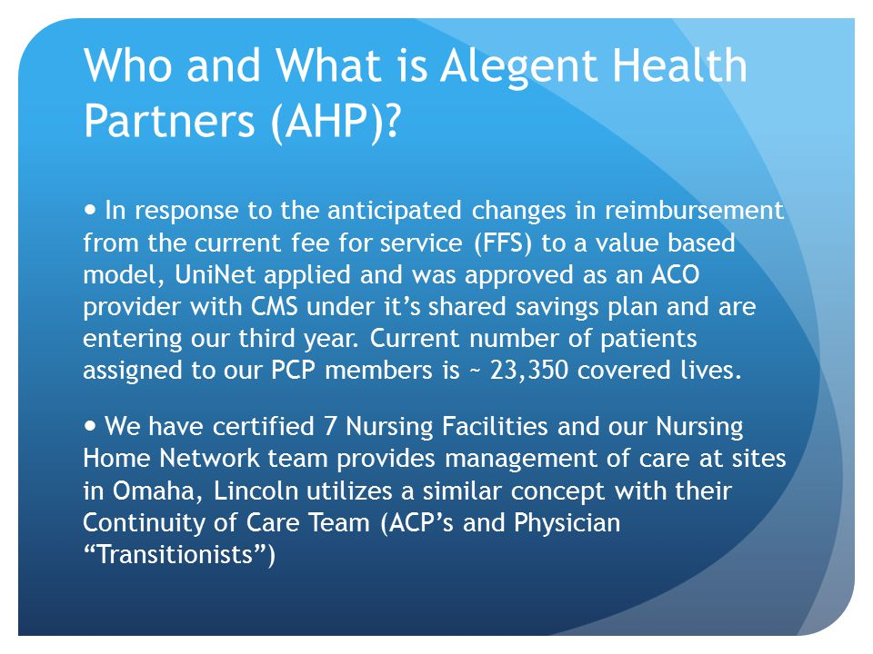 contracting with alegent health Physicians and patients are worried about the disruption of care that could result if blue cross blue shield of nebraska terminates its contract with alegent creighton health at the end.