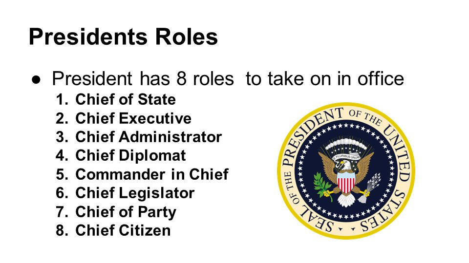 Chapter 13 section 1 the presidency ppt video online - Define executive office of the president ...