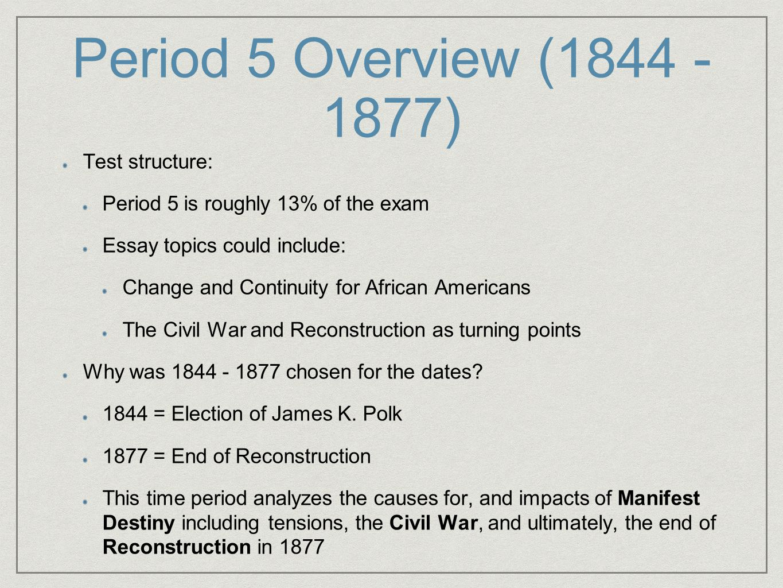 Race and manifest destiny essay