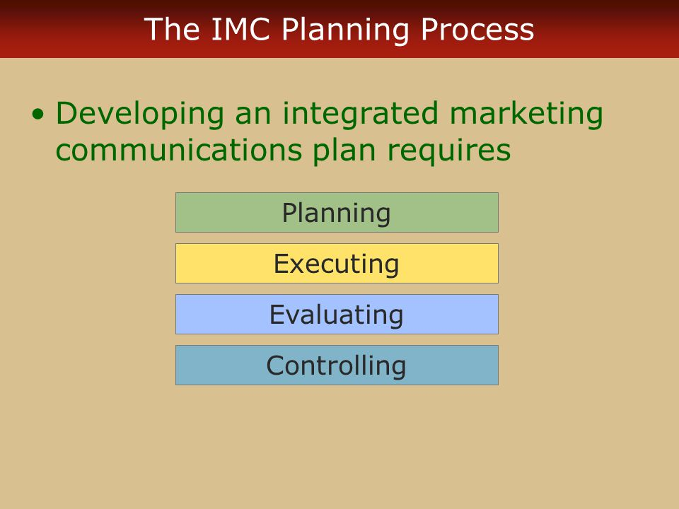 how to write an imc implementation plan