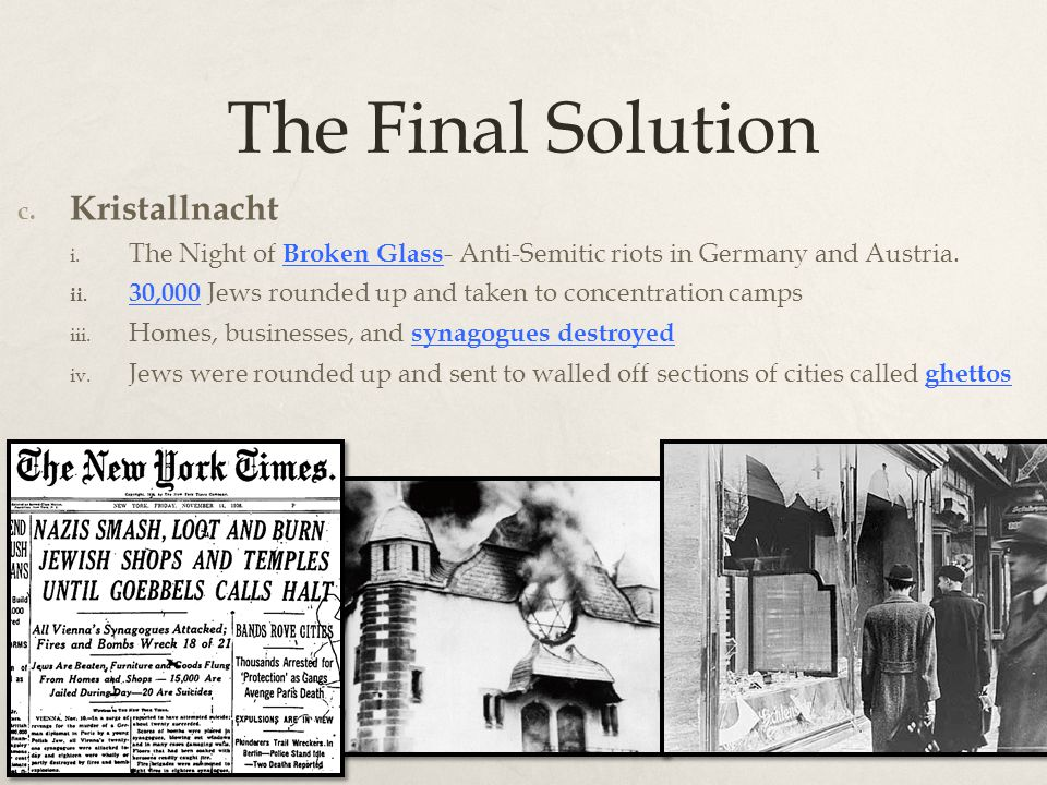 a description of the final solution on deciding upon and who decided it The 'functionalist' theory is that where the 'final solution' was decided upon only after many failed attempts to force jews to emigrate from germany aftershow more content at the very beginning hitler simply wanted lebensraum, living space, for the pure german people.