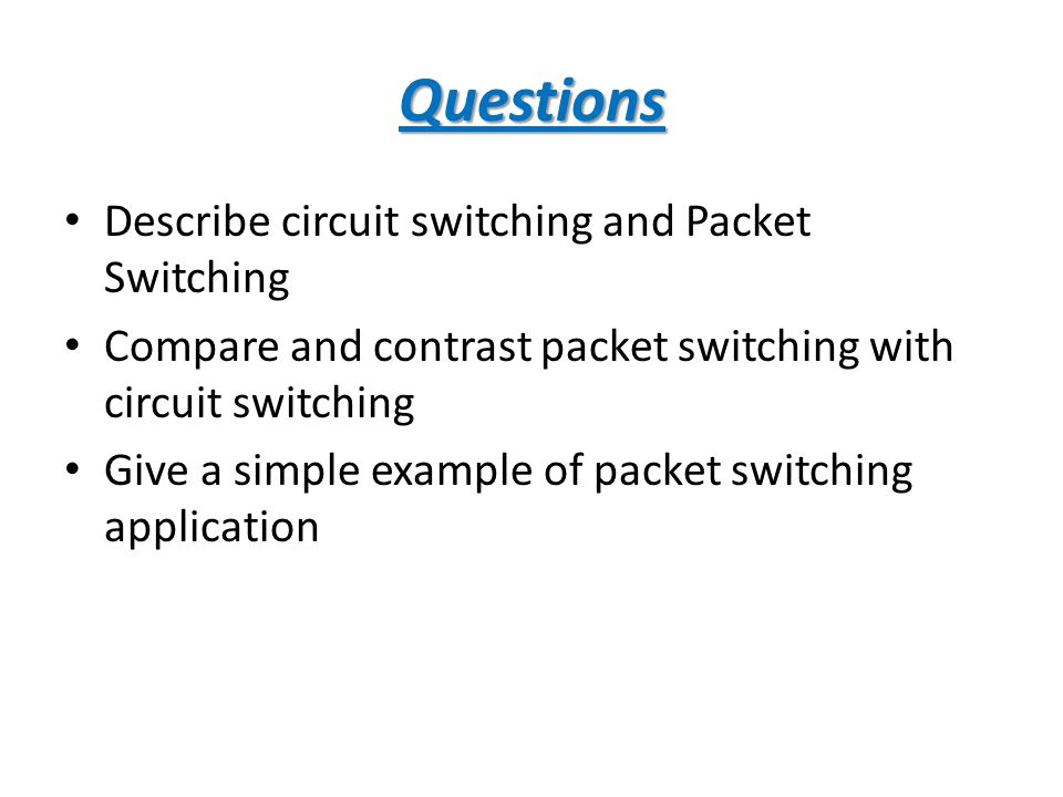 compare and contrast packet and circuit Firewall comparison: packet-filtering firewalls versus proxy firewalls by joel snyder how do circuit-level gateways and application-level gateways differ.