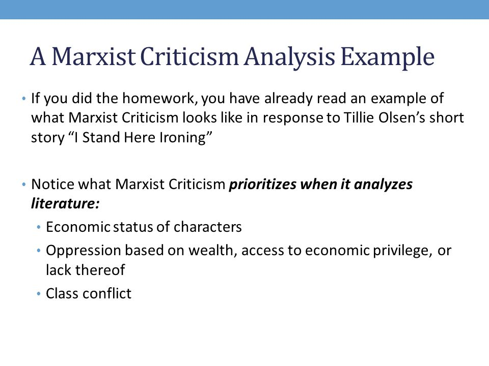 what is marxist criticism ppt video online  a marxist criticism analysis example