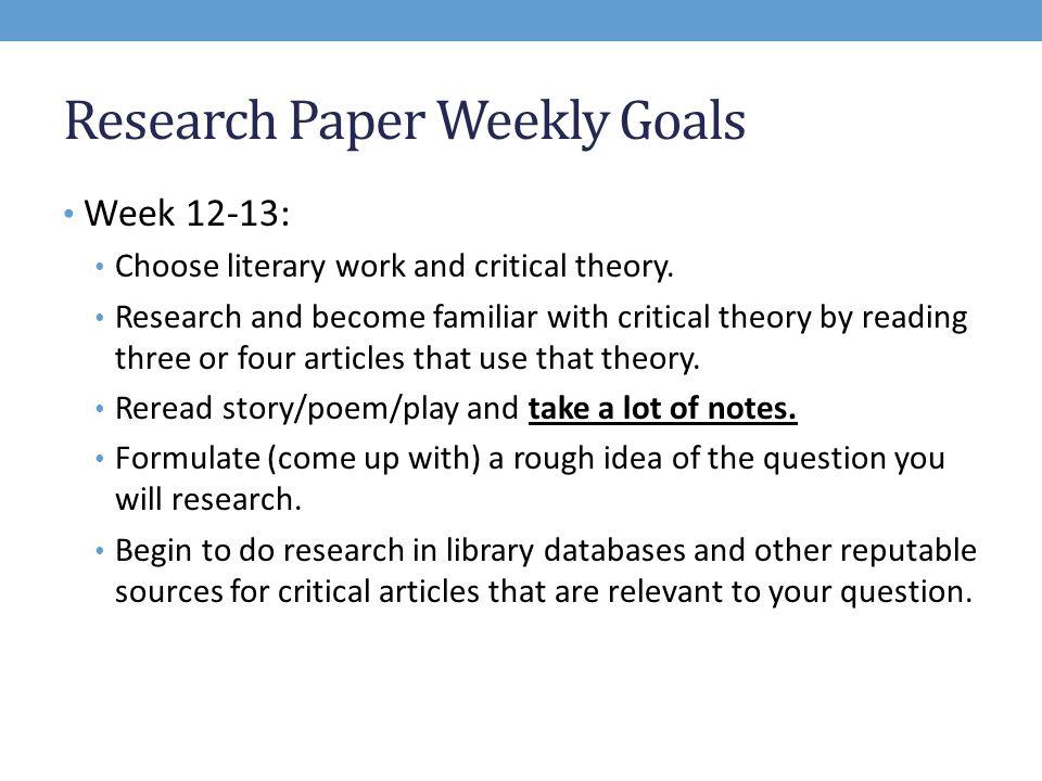marxist criticism research paper