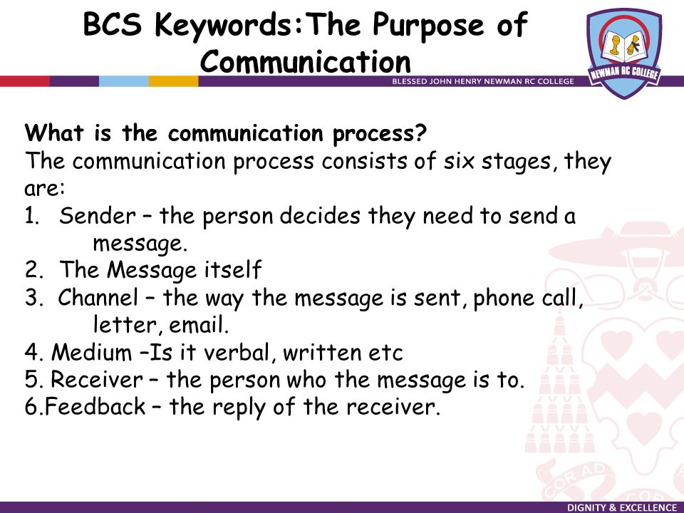 """six stages of communication process The first stage of the listening process is the receiving stage, which involves   between parties in a communication transaction"""" and constitutes the first step in."""