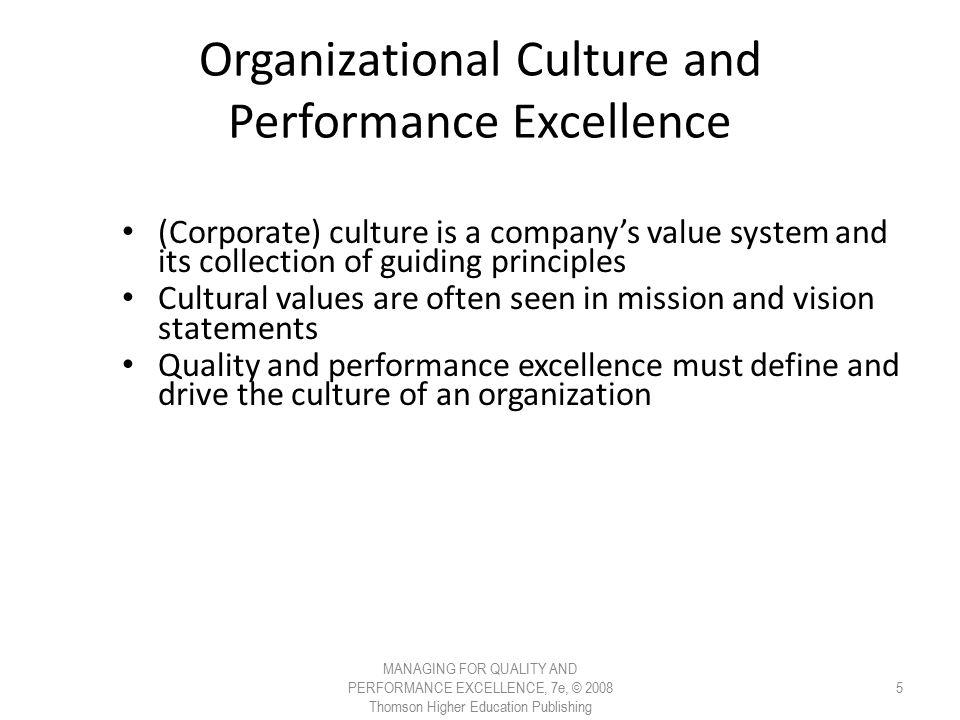 organizational culture and its job performance Define organizational culture and explain its three  relationship between organizational culture and performance  affects job performance,.