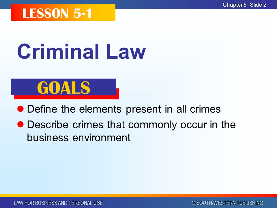 chapter 5 criminal law quiz The text of the criminal law survival kit is in two large documents, one on crime  and one on  chapter 5 competence and compellability of witnesses.