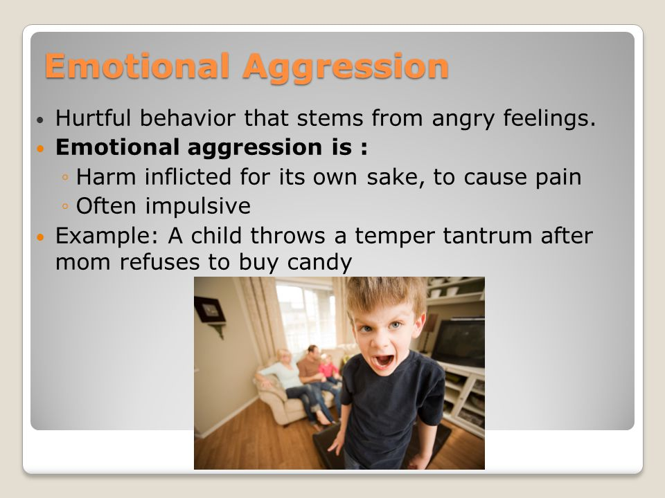 a reflection on the behavior and emotions of aggressive people The passive aggressive person is an angry, spiteful person who  keeps the  passive aggressive from being able to relate to you emotionally.