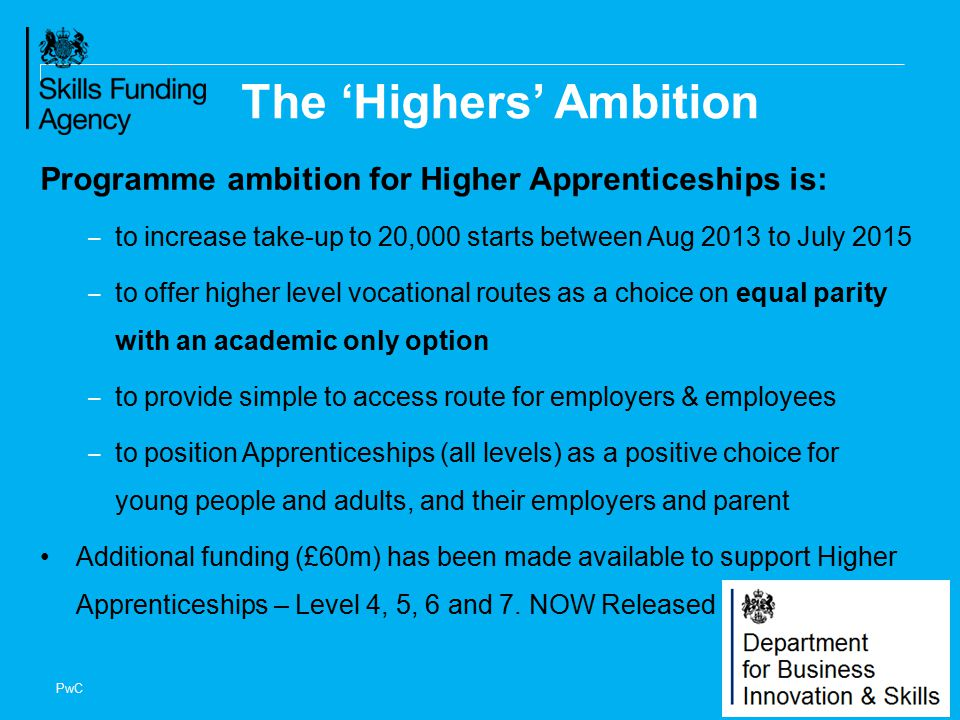 The 'Highers' Ambition